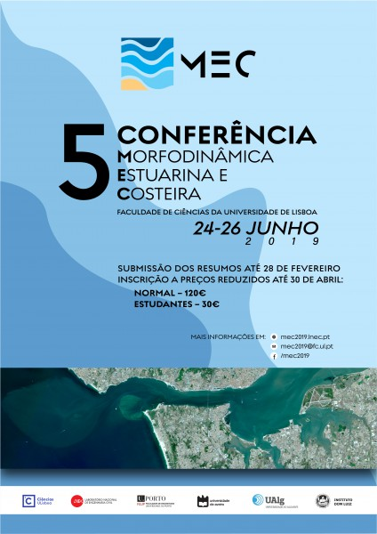 MEC2019 - 5th Conference on Estuarine and Coastal Morphodynamics
