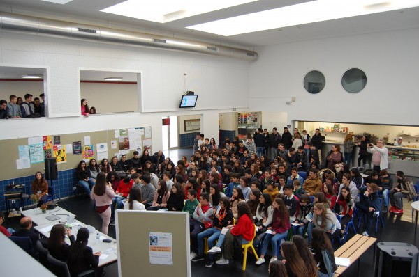 Faculty of CESAM were present in debate on climate change in a school of Oliveira de Azeméis