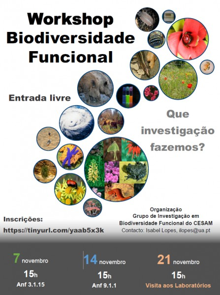 Workshop on Functional Biodiversity - What Research do we do?