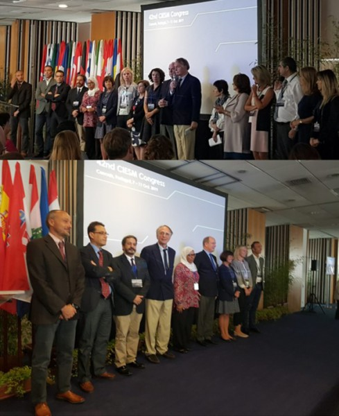 Luis Menezes Pinheiro, Professor at CESAM, was elected President of the Scientific Committee on Marine Geosciences of CIESM
