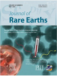 Cover Journal of Rare Earths