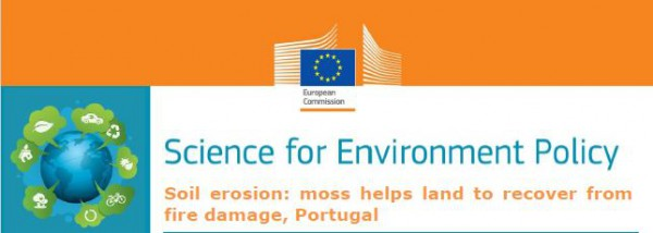 Science for Environment Policy from European Commission highlights study from CESAM researchers
